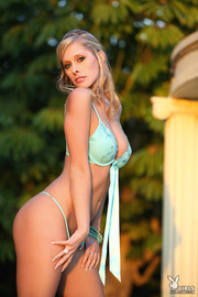 Hot Blonde Playboy Girl Laura Marie