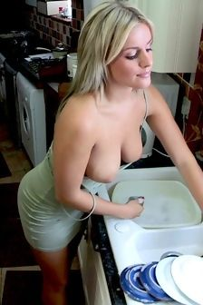 Amy Green Washing Dishes